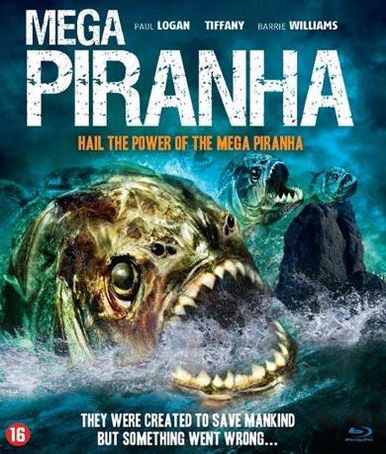 Cover van de film 'Mega Piranha'