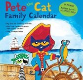Pete the Cat 2019-2020 17-Month Family Square Wall Calendar
