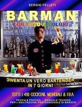 Barman Con Foto a Colori