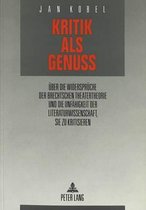 Kritik ALS Genuss
