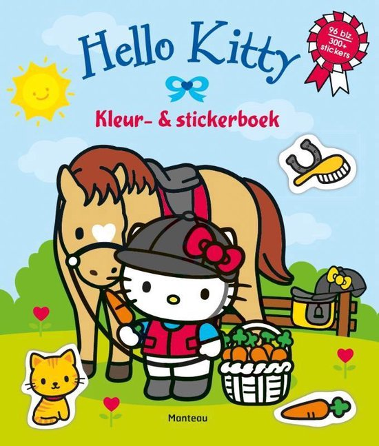 Hello Kitty - Hello Kitty kleur- en stickerboek