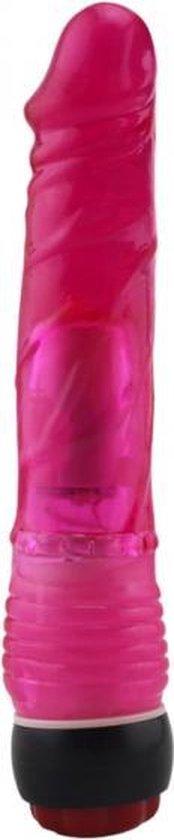 Power Escorts - Driller 07 - Dikke vette Realistische Vibrator - Dildo Vibrator - Vibrator voor Vrouwen - Vibrator Vrouw - Anaal Vibrator - Gspot vibrator - 21 cm - vette dikte 3 cm - BR38 - Heerlijk realistische Penis - gave Cadeaubox - diep Rood