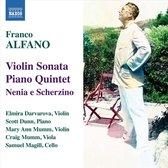 Alfano: Violin Sonata/Piano 5Tet