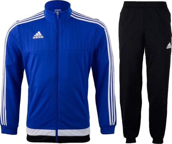 Bol Com Adidas Tiro 15 Trainingspak Heren Maat Xl Blauw Zwart Wit