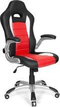 hjh office Racer Sport - Bureaustoel - Gamingstoel -  Rood / zwart