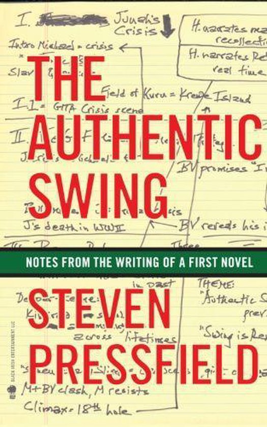 Boek cover The Authentic Swing van Steven Pressfield (Onbekend)
