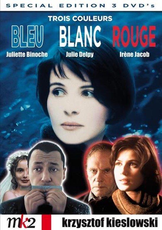 Cover van de film 'Trois Couleurs: Bleu, Blanc et Rouge'