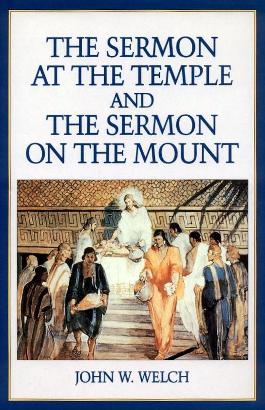 Sermon at the Temple and Sermon on the Mount