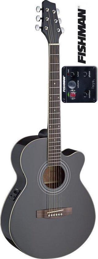 EW4MJF BK mini jumbo elektro-akoestische gitaar met Fishman pickup
