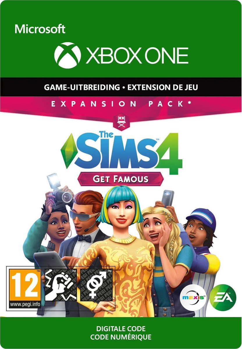 The Sims 4: Get Famous - Add-on - Xbox One