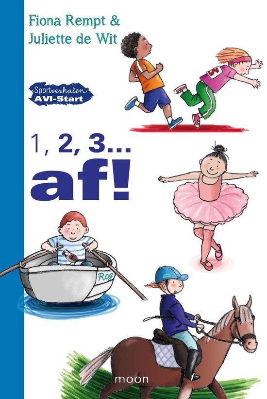 Cover van het boek '1,2,3 en af !' van Fiona Rempt