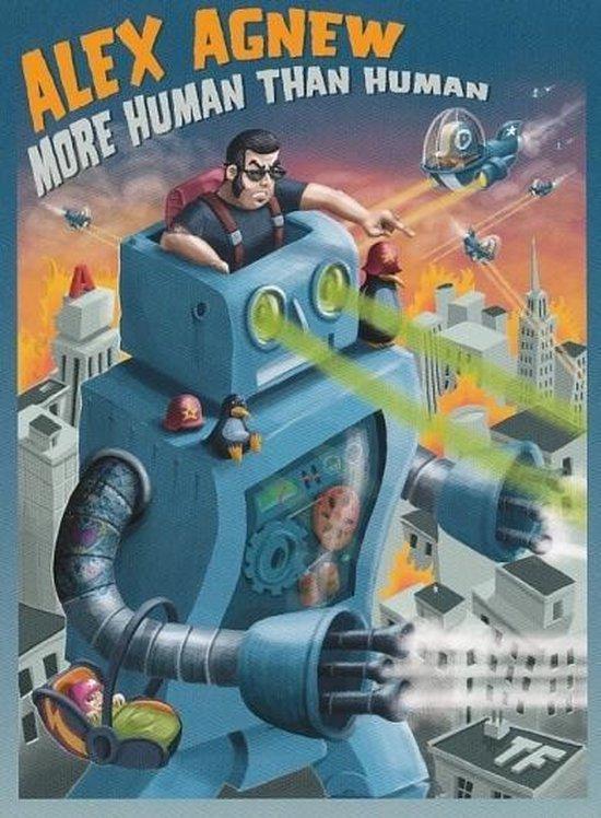 Cover van de film 'Alex Agnew - More Human Than Human'