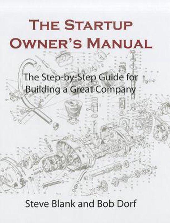 Boek cover The Startup Owners Manual. Vol. 1 van Steven G. (Steven Gary) Blank (Hardcover)