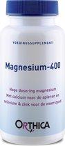 Orthica Magnesium-400 (mineralen) - 60 Tabletten