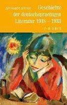 Geschichte der deutschen Literatur Bd. 10: Geschichte der deutschsprachigen Literatur von 1918 bis 1933