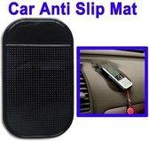 Auto Telefoniehouder Mat - Voor Telefoon GPS MP4 MP3 - Zwart