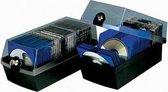 Han 9260-13 Cd-Box 60 Cds/Dvds/Blu-Rays Kunststof Polystereen Zwart 1 Stuks (B X H X D) 168 X 150 X 365 Mm