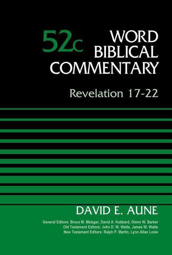 Boek cover Revelation 17-22, Volume 52C van Dr. David Aune (Onbekend)