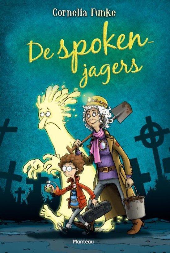 Boek cover De spokenjagers van Cornelia Funke (Hardcover)