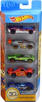 Afbeelding van Hot Wheels 50th Anniversary Cadeauset 5 Autos - Speelgoedautos