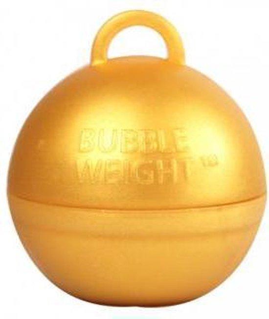 Ballongewicht bubble goud (35gr)