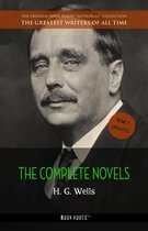 Boek cover H. G. Wells: The Collection [newly updated] [The Wonderful Visit; Kipps; The Time Machine; The Invisible Man; The War of the Worlds; The First Men in the ... van H. G. Wells