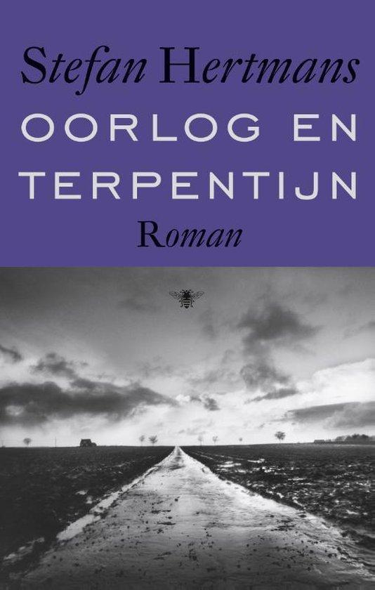 Boek cover Oorlog en terpentijn van Stefan Hertmans (Hardcover)