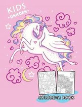 Kids Unicorn Coloring Book