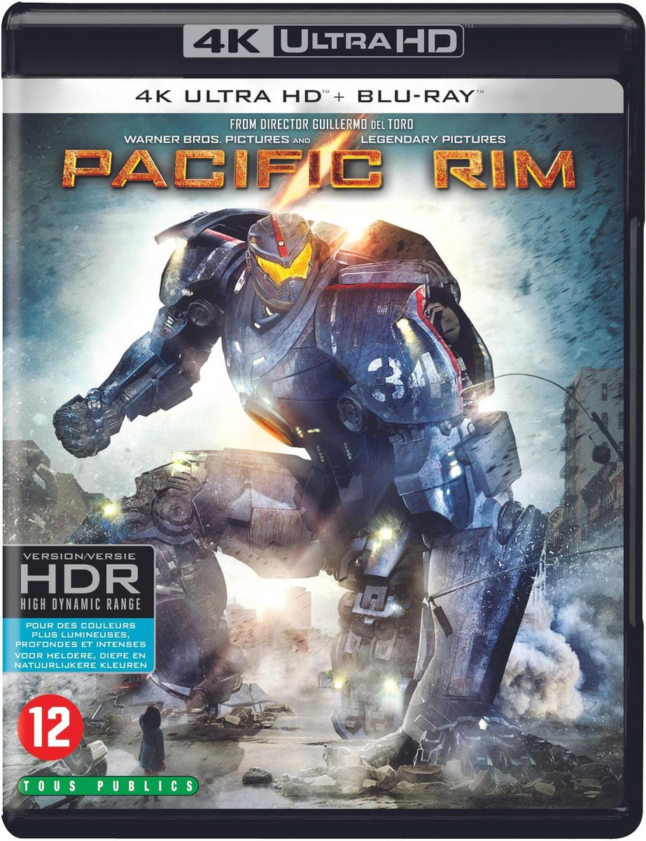 Pacific Rim (4K Ultra HD Blu-ray)-