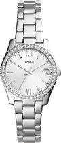 Fossil Zilverkleurig Vrouwen Horloge ES4317
