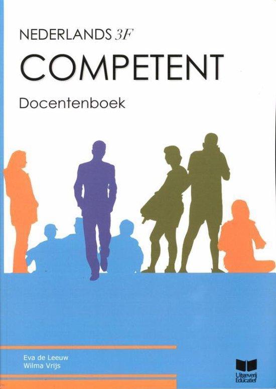 Competent Nederlands 3F Docentenboek - Eva de Leeuw |