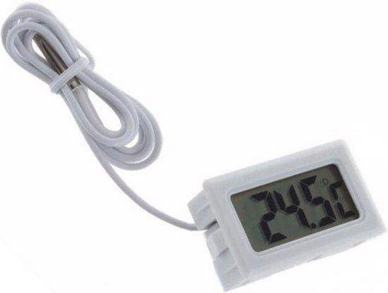 Trendfield Digitale Thermometer voor Binnen & Buiten - Wit