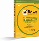 Norton Security Standard 3.0 - Nederlands / Frans / 1 Apparaat / 1 Jaar / Windows / Mac / iOS / Android