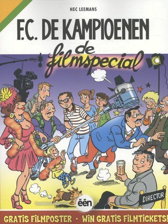 Cover van het boek 'De Kampioenen special De filmspecial'