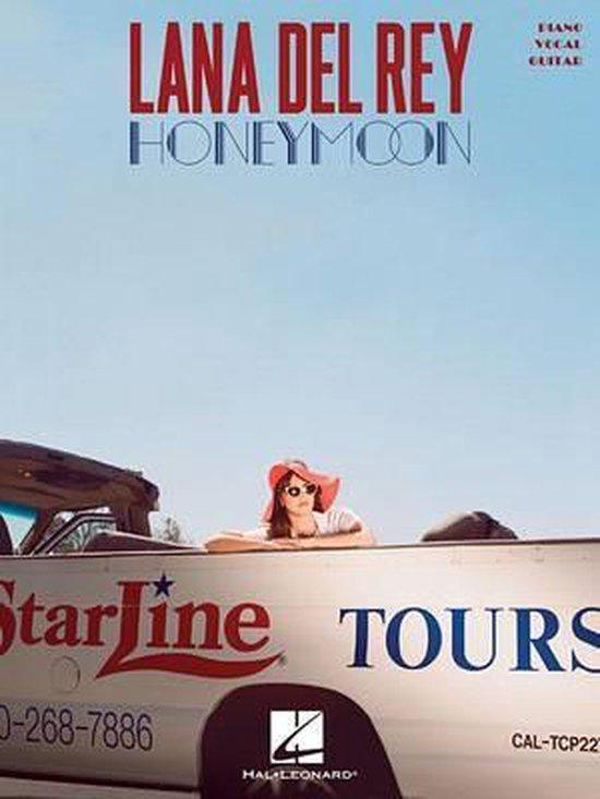 Boek cover Lana del Rey - Honeymoon van Lana Del Rey (Paperback)