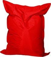 zitzak nylon rood maat 110x140 cm