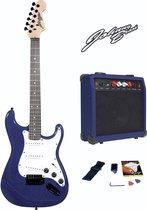 Elektrische gitaar set met 20W versterker - Blauw