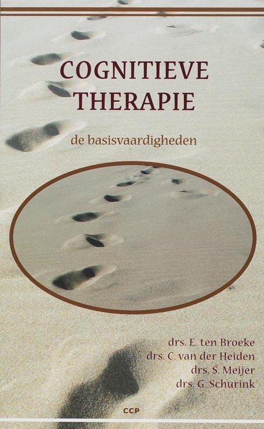 Cognitieve therapie de basisvaardigheden + CD-ROM - F.E. Ten Broeke |