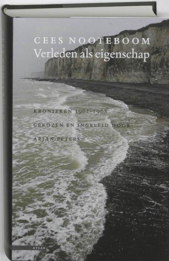Boek cover Verleden als eigenschap van Cees Nooteboom (Hardcover)