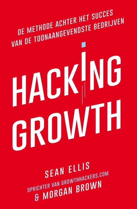 Boek cover Hacking Growth van Sean Ellis (Onbekend)