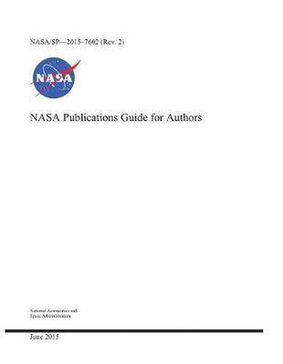 NASA Publications Guide for Authors