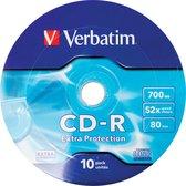 Verbatim CD-R 52X 700MB 10PK OPS Wrap EP 10 stuk(s)