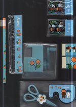 Miffy schoolset lichtblauw 8 stuks