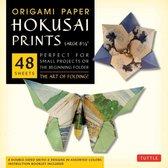 Origami Paper - Hokusai Prints - Large 8 1/4  - 48 Sheets: Tuttle Origami Paper