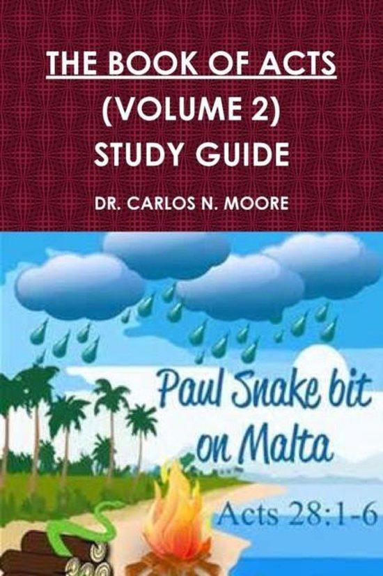 Boek cover The Book of Acts (Volume 2) van Dr Carlos N Moore (Paperback)