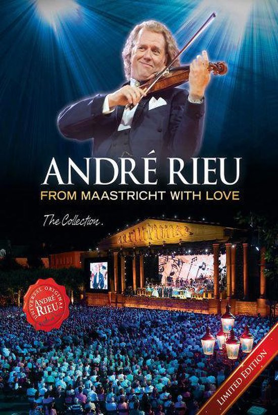 Cover van de film 'André Rieu - From Maastricht With Love'