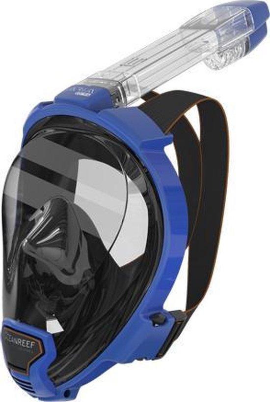 Ocean Reef Aria QR+ Snorkelmasker - Blauw - S/M