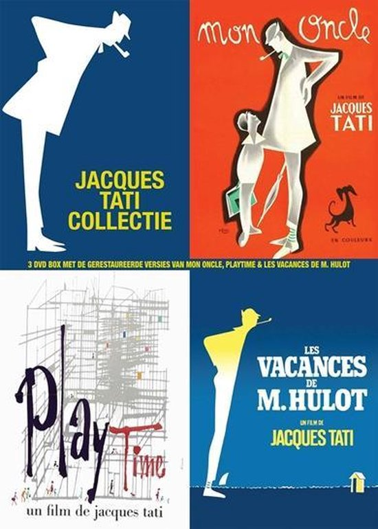 Cover van de film 'Jacques Tati Collectie '