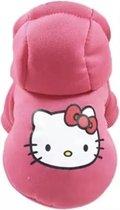 Trui voor honden - Roze trui voor hondjes - Hello Kitty Design - Maat S