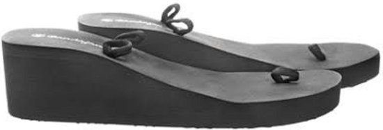 Bandajanas Slippers sleehak zwart
